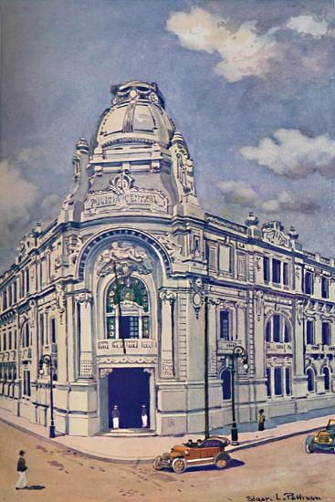 'Civil Police Headquarters, Rio', 1914-Unknown-Giclee Print