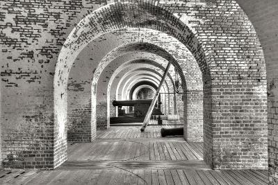 Civil War Fort I-George Johnson-Photographic Print