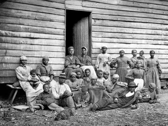 Civil War: Freed Slaves--Photographic Print