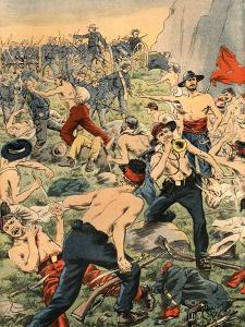 Civil War in Colombia, Illustration from French Newspaper Le Petit Journal October 19, 1902