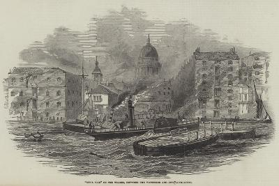 Civil War on the Thames, Between the Watermen and City Authorities--Giclee Print