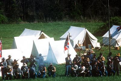 Civil War Reenactment, Tipton Haynes Farm, Johnson City, Tennessee--Photographic Print