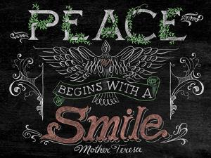 Peace Begins with a Smile by CJ Hughes