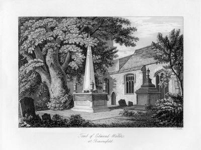 Tomb of Edmund Waller, Beaconsfield, Buckinghamshire, 1840