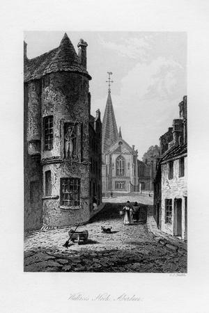 Wallace's Nook, Aberdeen, 1840
