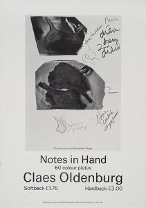 Notes in Hand by Claes Oldenburg