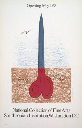Scissors as Monument, 1968