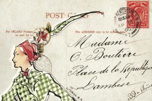 Carte Postal II by Claire Fletcher