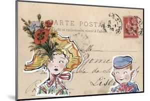 Carte Postal III by Claire Fletcher