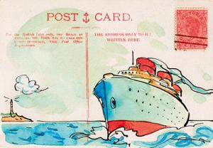 Carte Postal V by Claire Fletcher