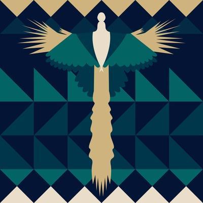 Aztec Peacock