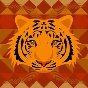 Aztec Tiger by Claire Huntley