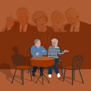 Cafe Debate by Claire Huntley
