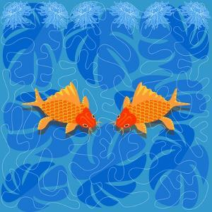 Chinese Fish by Claire Huntley