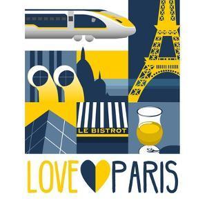 Love Paris by Claire Huntley