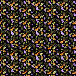 Night Leaves pattern by Claire Huntley