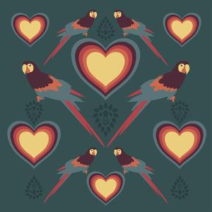Parrot Love by Claire Huntley