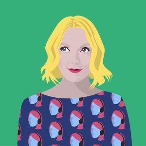 Portrait of Lauren Laverne by Claire Huntley