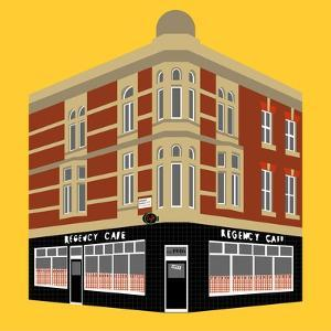 Regency Cafe, Westminster by Claire Huntley