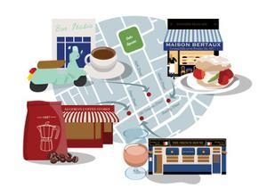 Soho Classics for Coffee, Cake and Wine! by Claire Huntley