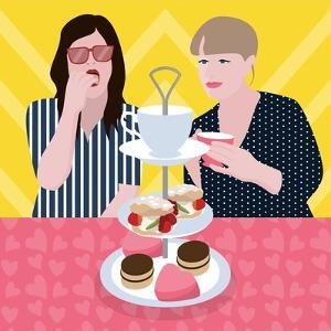 Tea Party by Claire Huntley