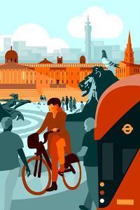 Trafalgar Square by Claire Huntley