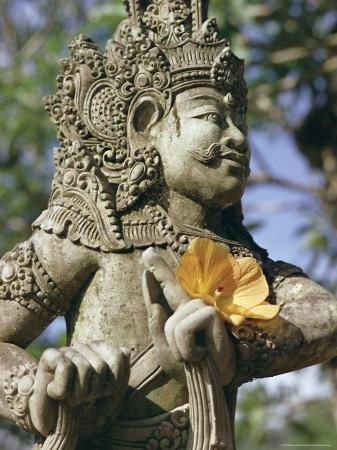 Close-up of Statue, Bali, Indonesia, Southeast Asia, Asia