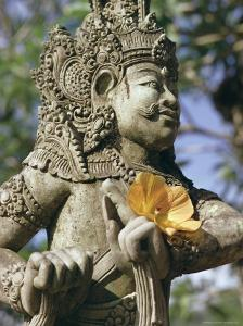 Close-up of Statue, Bali, Indonesia, Southeast Asia, Asia by Claire Leimbach
