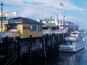 Boats at Fishermans Wharf, CA by Claire Rydell