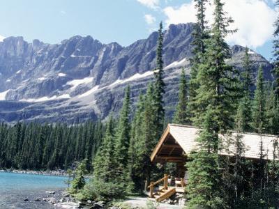 Cabin Near Lake O'Hara, Banff National Park, Alberta, Canada