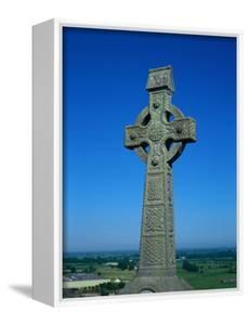 Celtic Cross with Knotted Desings, 7th Century, Ireland by Claire Rydell