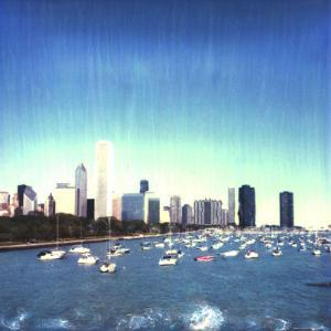 Chicago Skyline, Illinois by Claire Rydell