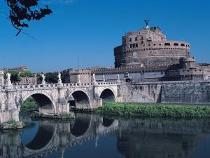Ponte Sant'Angelo, Rome by Claire Rydell
