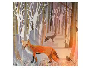 Foxy Wood by Claire Westwood