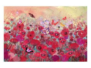 Poppy meadow by Claire Westwood