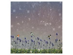 Snowy sky 3 by Claire Westwood