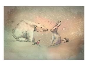 Winter friends by Claire Westwood