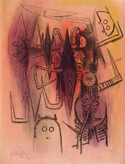 Clairière-Wilfredo Lam-Limited Edition