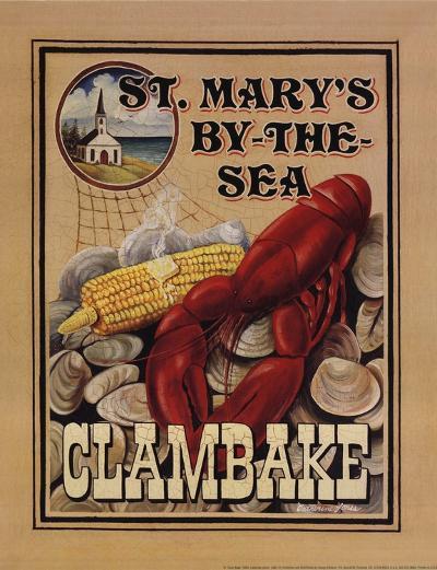 Clam Bake-Catherine Jones-Art Print