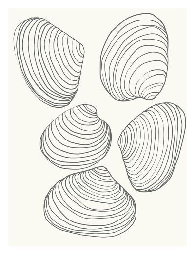 Clams-Jorey Hurley-Art Print