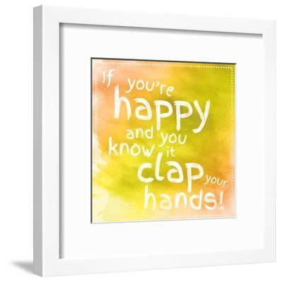 Clap Your Hands 2-Lauren Gibbons-Framed Art Print