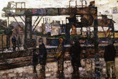 Clapham Junction Station, London, 1961-Ernst Eisenmayer-Giclee Print