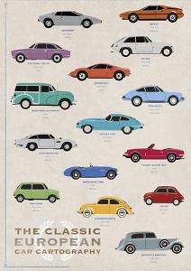 Car Cartography II by Clara Wells