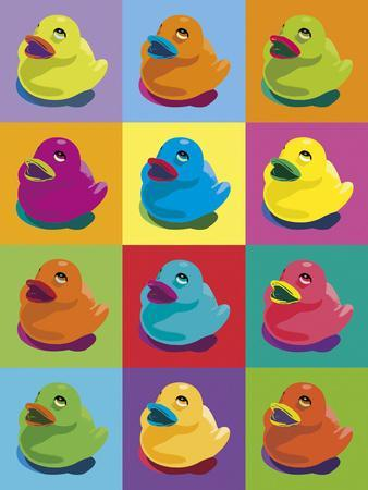 Ducks in Colour