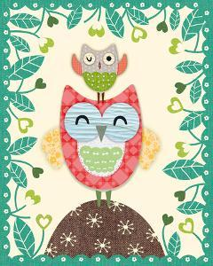 Folksy Friends I by Clara Wells