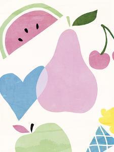 Funky Pear by Clara Wells
