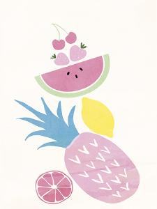 Funky Pineapple by Clara Wells