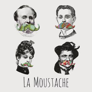 La Moustache I by Clara Wells
