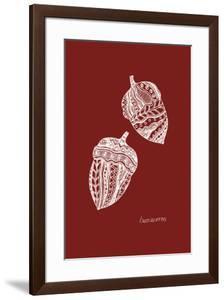 Simple Nature - Acorns by Clara Wells
