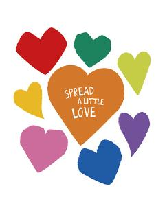 Spread a Little Love by Clara Wells